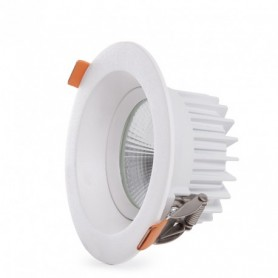 LED Downlight | COB | 7W |Antiblendung